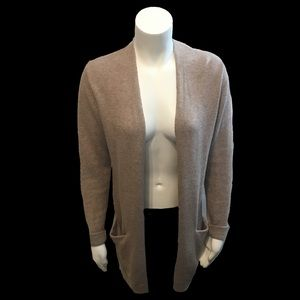 Open Cardigan with POCKETS Brown Old Navy